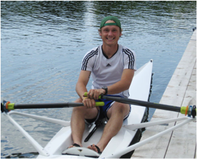 happy sculler